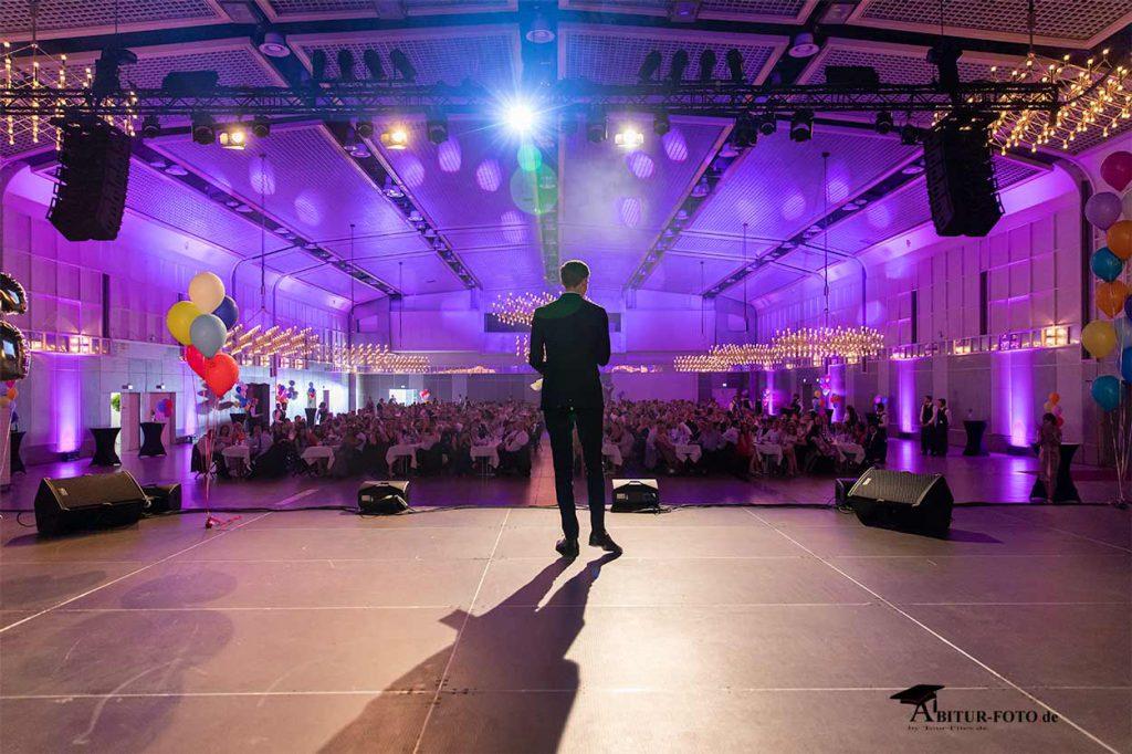 Abiball Fotograf auf der Bühne
